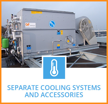 Separate cooling systems and accessories