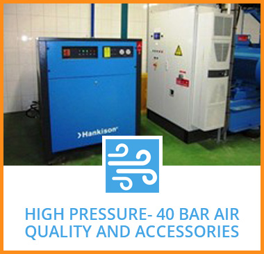 High Pressure- 40 bar air quality and accessories