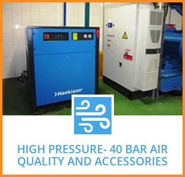 High Pressure- 40 bar air quality and accessories