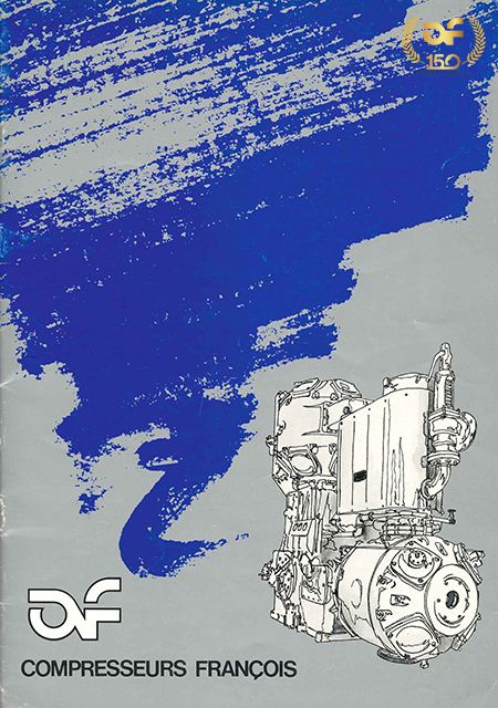 Mid 1980's design for AF brochure.
