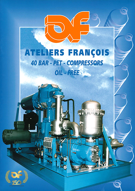 Late 1990's design for AF brochure.