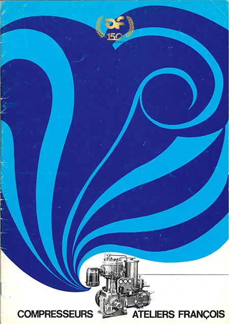 Brochure bleue