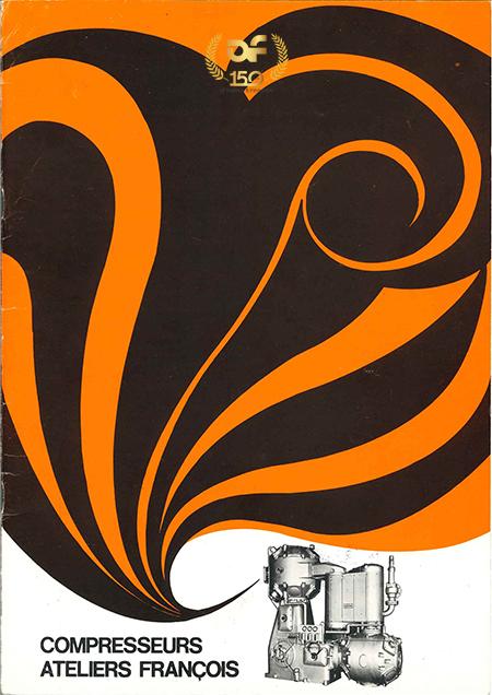 Brochure orange